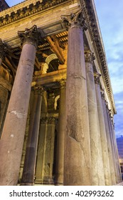 Pantheon in Rome in Italy