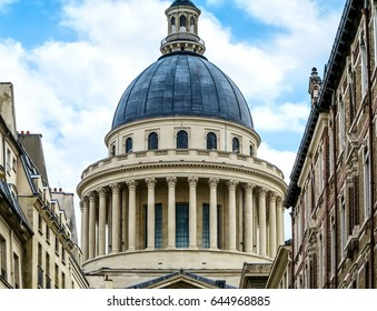 Pantheon-Sorbonne in Latin Quarter of Paris, France