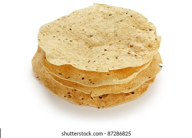 papad , indian traditional food