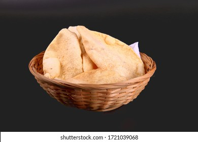 papad is a thin, crisp, round flatbread from the Indian subcontinent