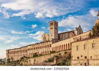 The Papal Basilica of Saint Francis of Assisi is the mother church of the Roman Catholic Order of Friars Minor Conventual in Assisi, a town of Umbria region in central Italy.