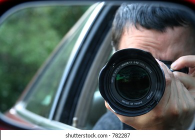 Paparazzi Hiding