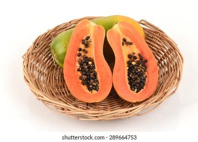 Papaya, fruit of Thailand has medicinal properties.