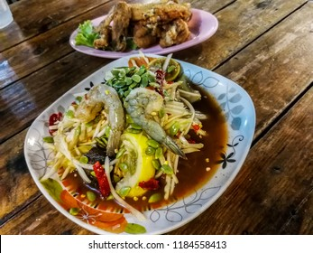 cof​ Food​ papaya salad