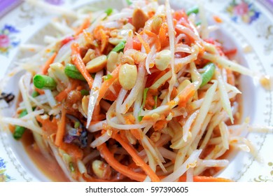 papaya salad thailand