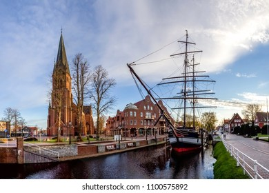 Papenburg, Ship, Church, Germany
