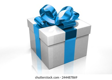 Paper 3d Gift Boxes Set Illustration