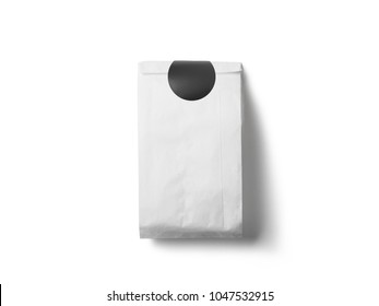 paper bag with small isolated on white background