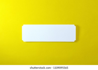 Paper banner shapes on color background, ideal for your communication projects or paper topics.