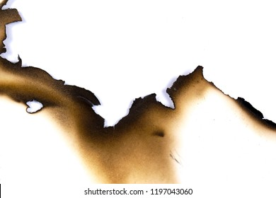 paper burned old grunge abstract background texture