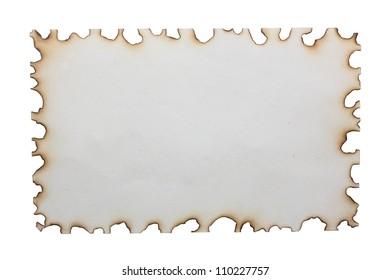 Paper burns