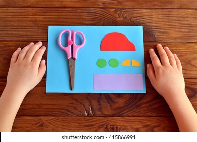 Children Doing Craft Stock Photos Images Photography