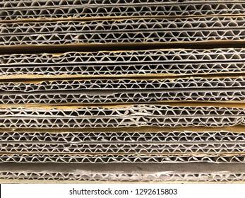 Paper corrugated background