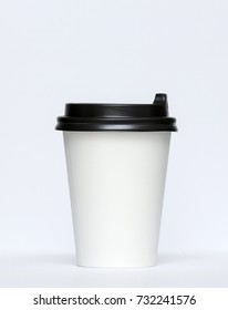 Paper cup for hot coffee.
