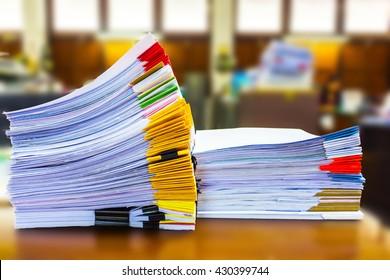 Papierdokumente werden archiviert
