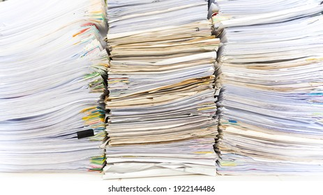 Papierdokumente im Archiv