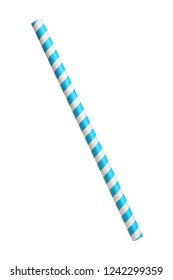 paper drinking straw with red and white stripes