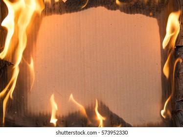 paper fire board