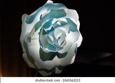 Paper flower decoration ideas big size for events