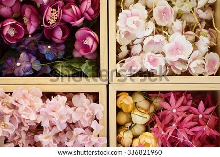 Paper flowers make bouquet art craft stock photo edit now paper flowers to make a bouquet art craft handmade hobby background mightylinksfo