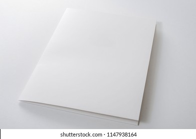 A paper folder on white background