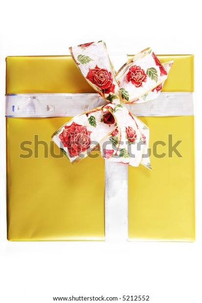 paper gifts boxes with bow, sits ready for any occasion.