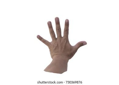 paper Hand sign (Rock Paper Scissors)
