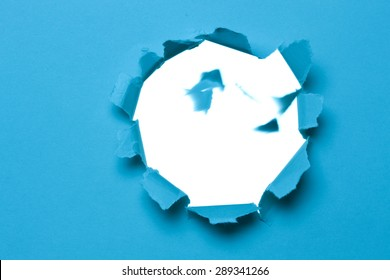 Paper hole