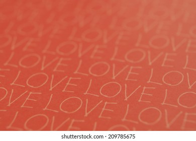 The Paper Marked With Love