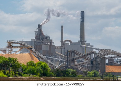 Paper mill in production in North East Florida.