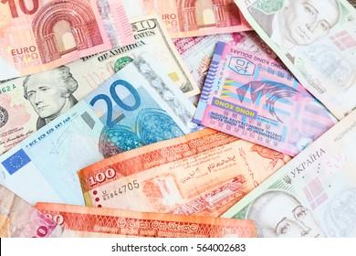 paper money from around the world