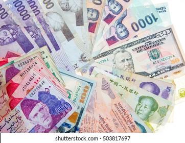 Paper money background