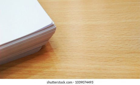 Paper on table office concept