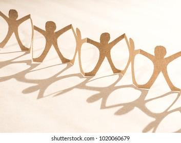 Paper people - figurines.