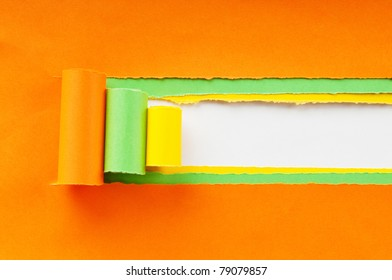 Paper pieces with space for your message