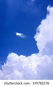 Paper Plane And Thunderhead