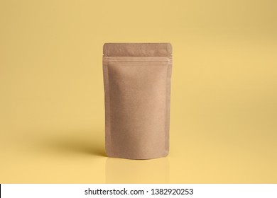 Paper Pouch Packaging MockUp Design