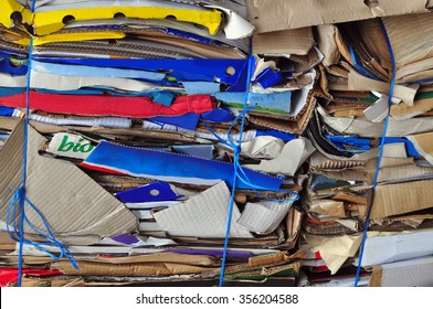Paper separate, waste disposal old