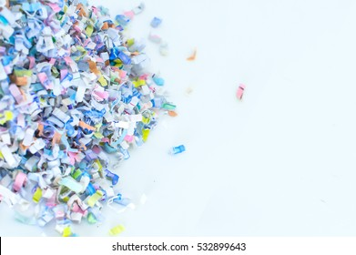 Paper shredder recycling background pattern texture