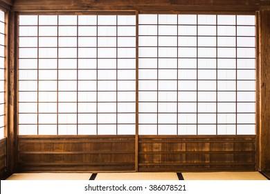 paper sliding door called Shoji in Japanese
