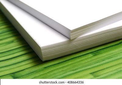 paper stack background eco friendly