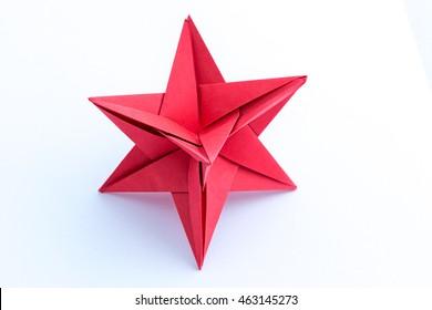 Paper star Kusudama traditional Japanese healing ball