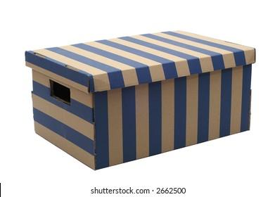 Paper stripped box