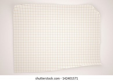 Paper textures background, isolated on white background