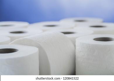 paper toilet rolls