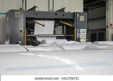Paper Unrolling Machine Industrial Equipment Depth of Field Printing