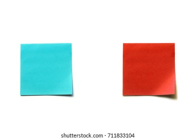 Paper vs. Paper on White Background