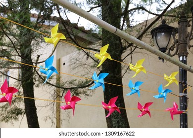 The paper windmills