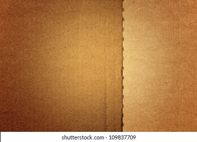 Paperboard. Cardboard background. Paper texture