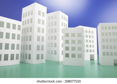 Papercraft Building Stock Photos, Images & Photography   Shutterstock